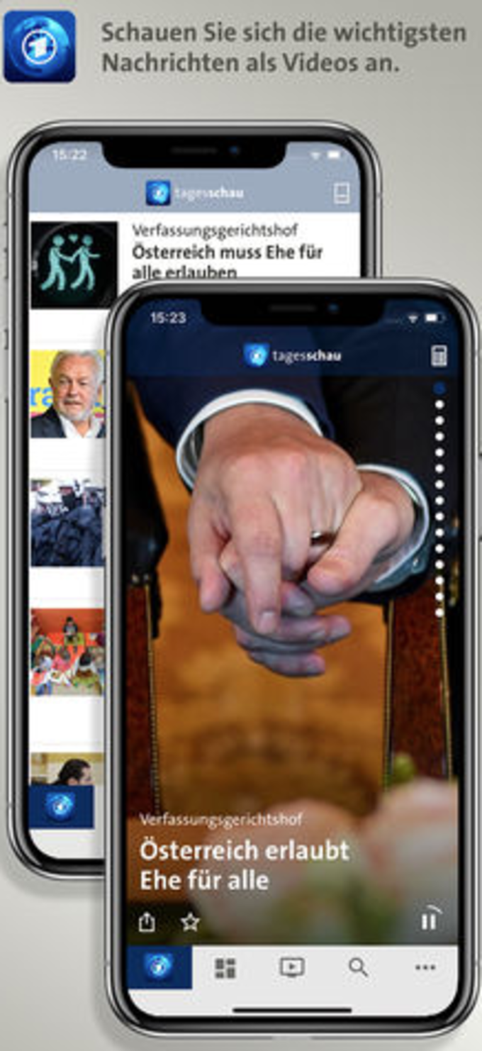 Tagesschau für iPhone