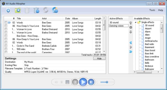 AV Audio Morpher