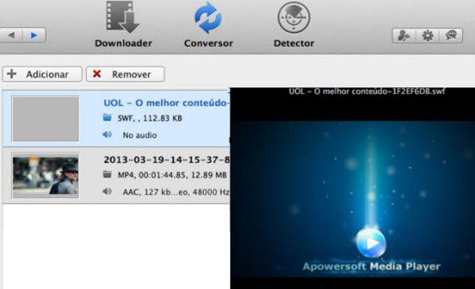 Conversor de Vídeo para Mac da Apowersoft