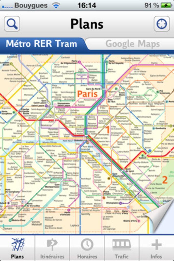 RATP: Métro & Bus Paris Officiel