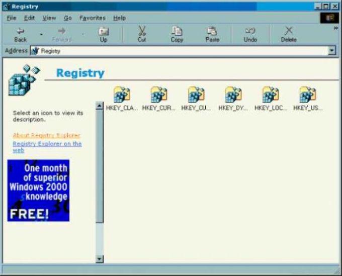 Registry Explorer