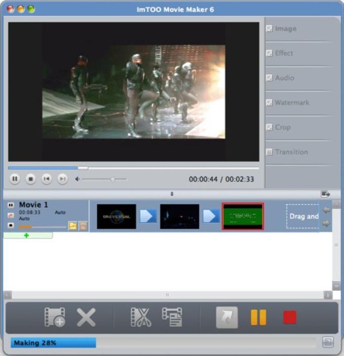 ImTOO Movie Maker for Mac