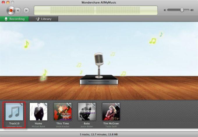 Wondershare AllMyMusic for Mac