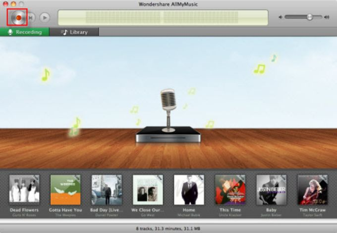 Wondershare AllMyMusic for Mac