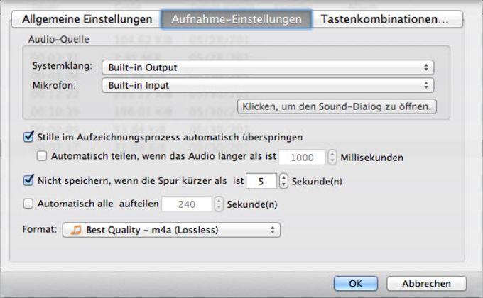 Apowersoft Audiorekorder für Mac