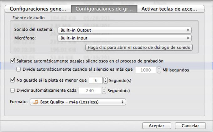 Grabador de Audio para Mac de Apowersoft