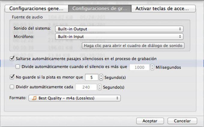 Grabador de Audio para Mac de Apowersoft