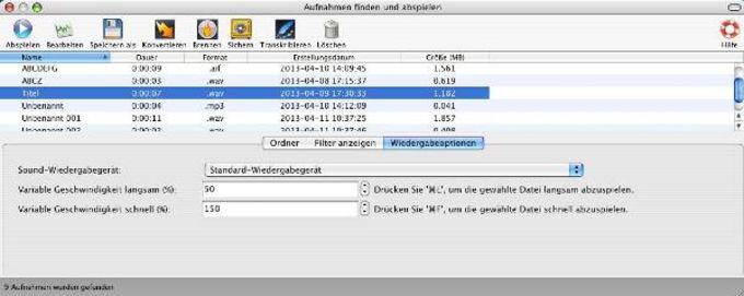 RecordPad Sound Recorder for Mac