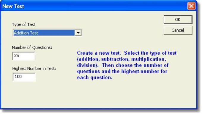 Math Test Generator (MEG)