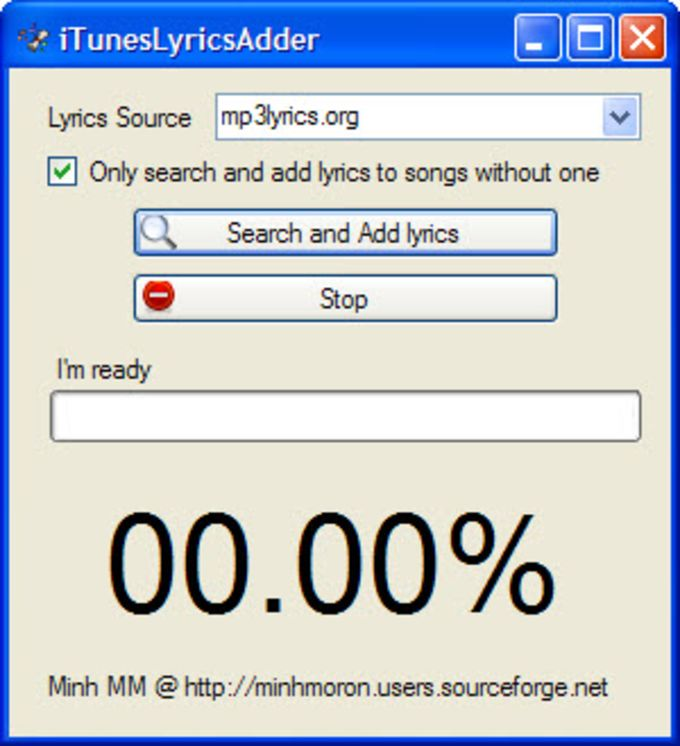 iTunes Lyrics Adder