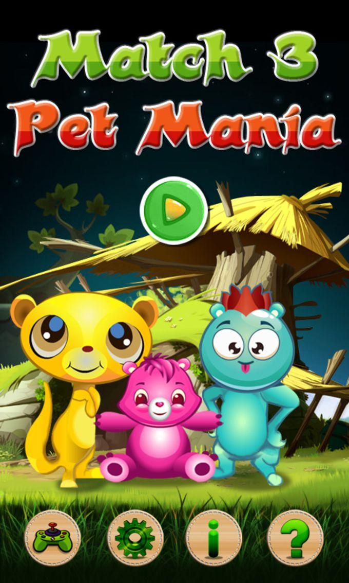 Match 3 Pet Mania