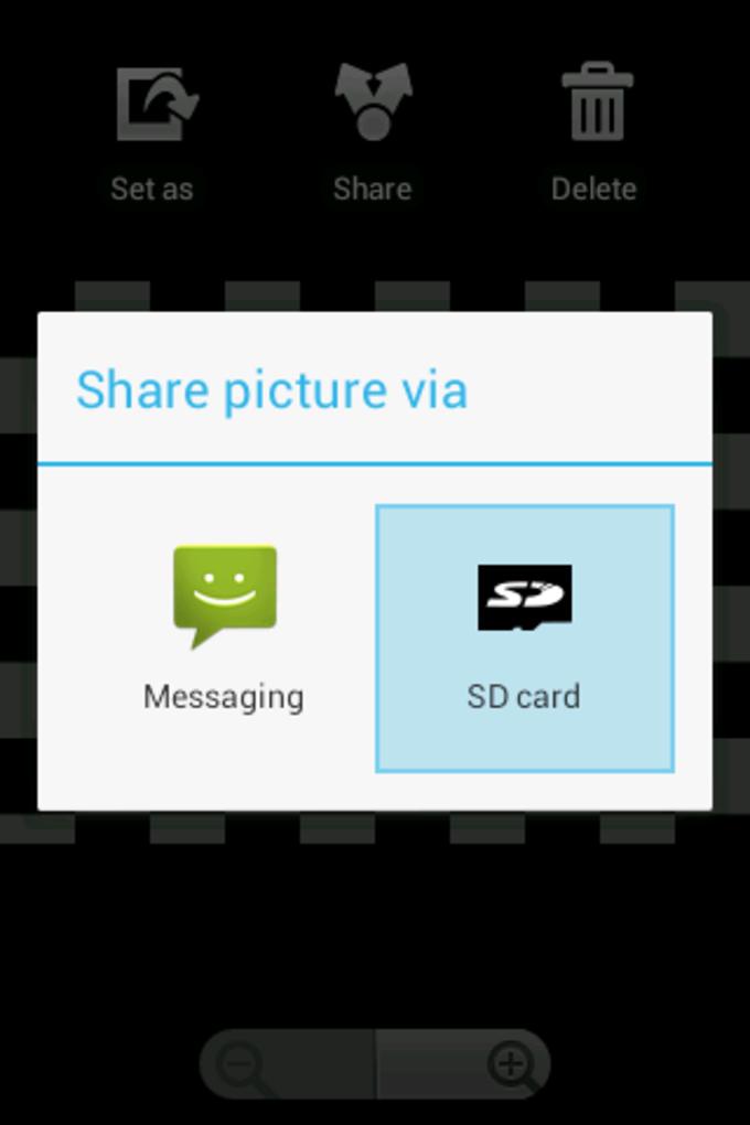 Send to SD card
