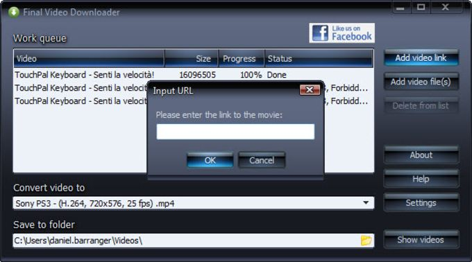 Final Video Downloader