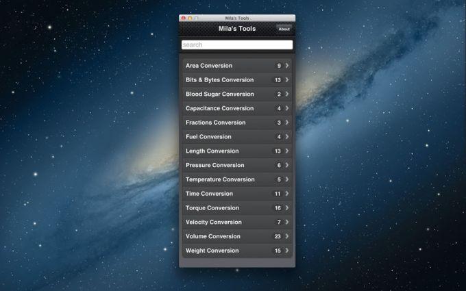 Mila's Tools - Unit Converter Conversion Calculator