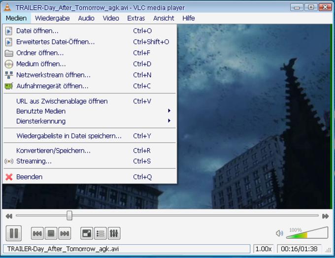 Portable VLC media player