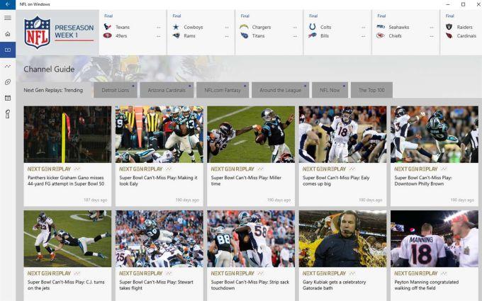 NFL on Windows