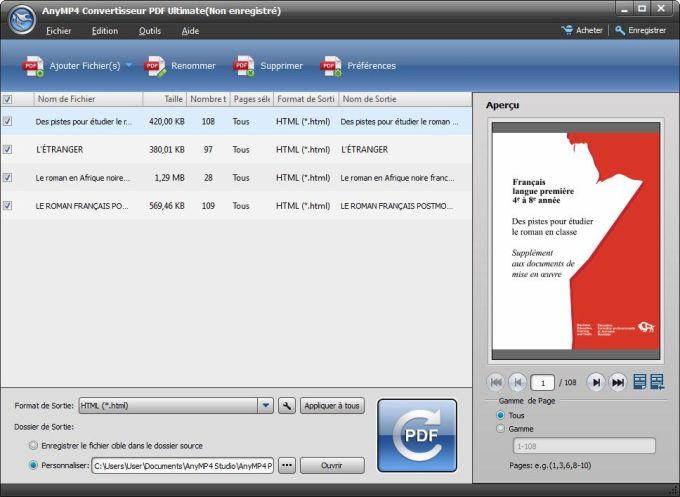 AnyMP4 PDF Konverter Ultimate