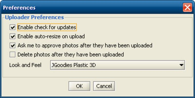 Facebook Photo Uploader