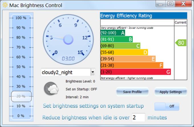 Mac Brightness Control