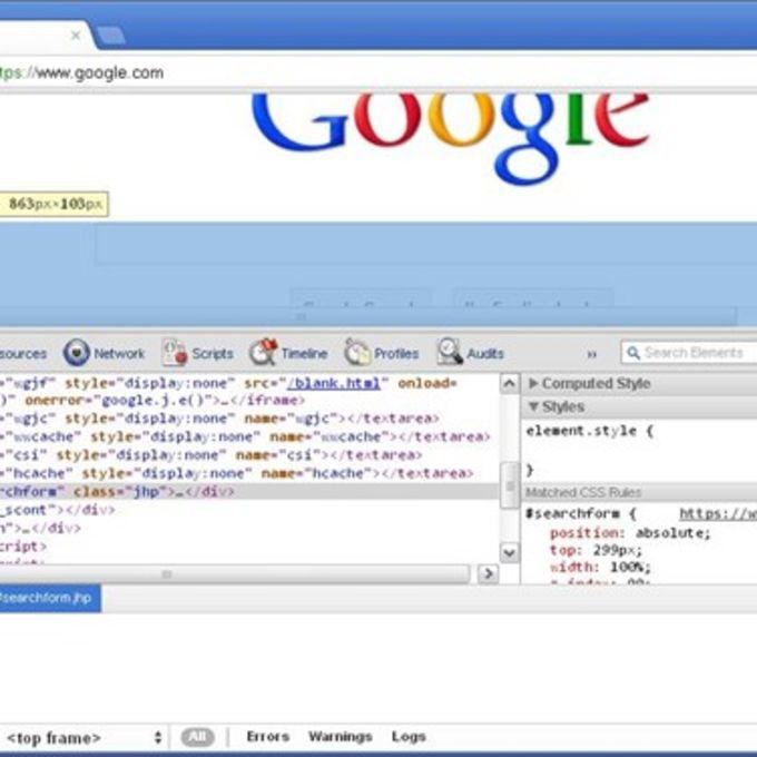 Google Chrome Developer Tools