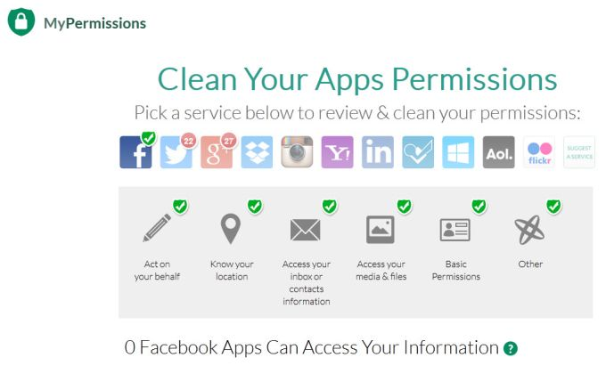 MyPermissions Cleaner
