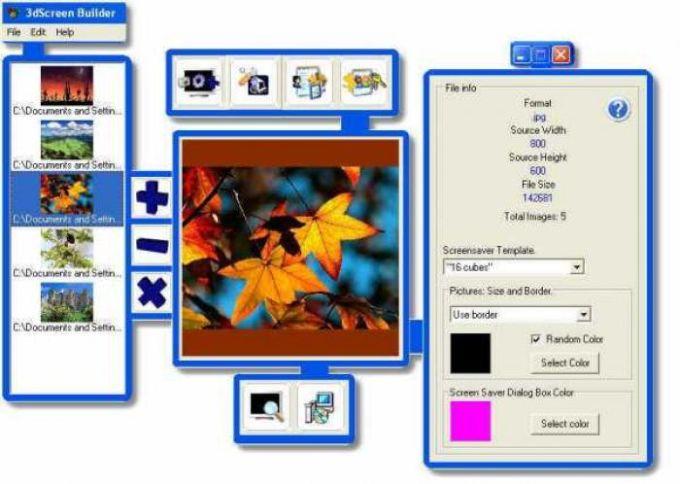 3DScreen Builder