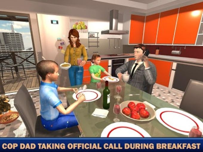 Virtual Families American Dad Police Family Games