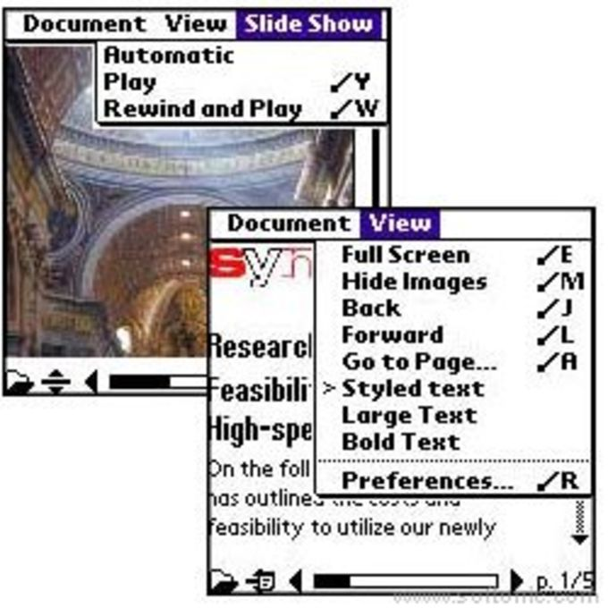 Adobe Reader Palm OS