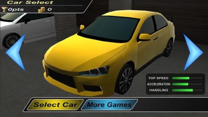 M-acceleration 3D Car Racing