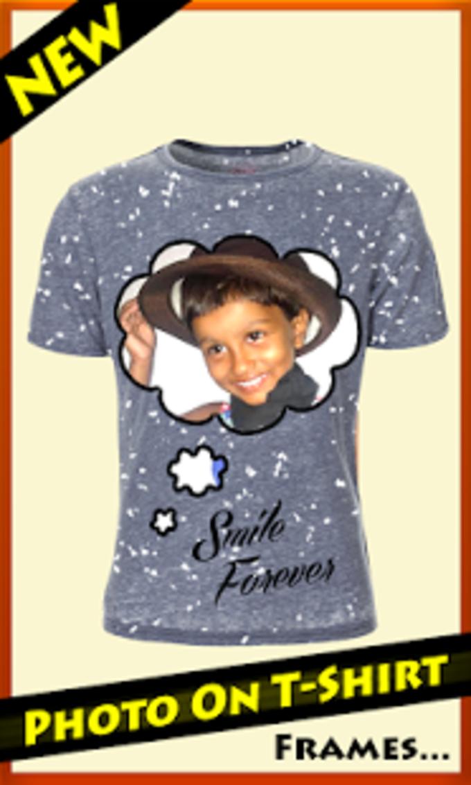 Photo On T Shirt Frames