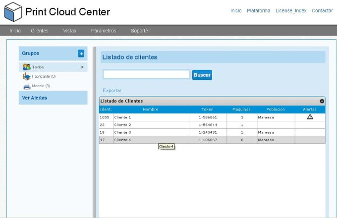 Print Cloud Center