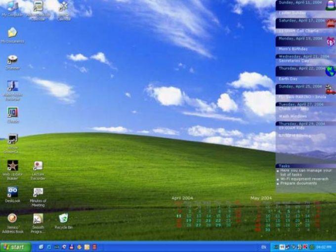Active Desktop Calendar