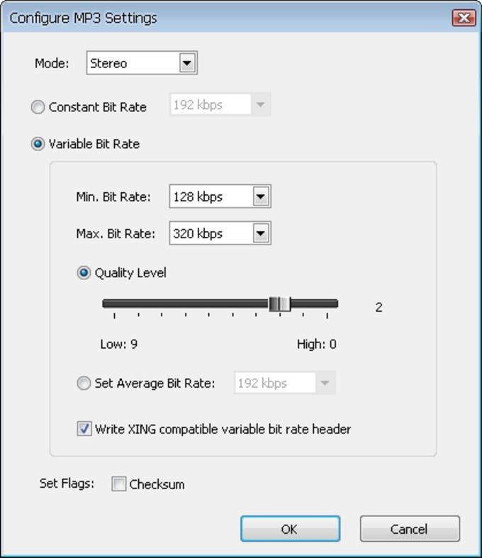 Free Mp3/Wma/Ogg Converter