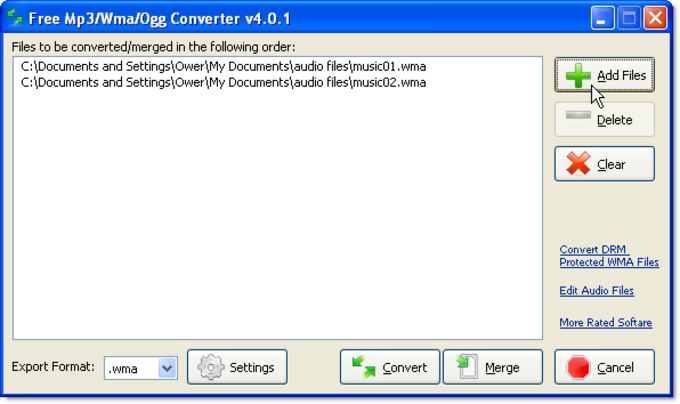 CyberPower Free Mp3 Wma Ogg Converter