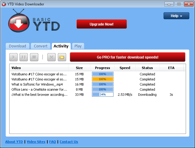 Ytd video downloader download superb free downloader for youtube and other video streaming sites ccuart Gallery
