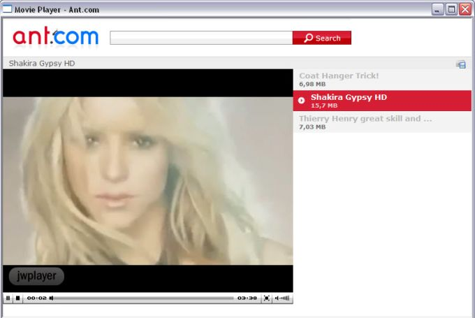Ant.com Video Downloader + Video Player