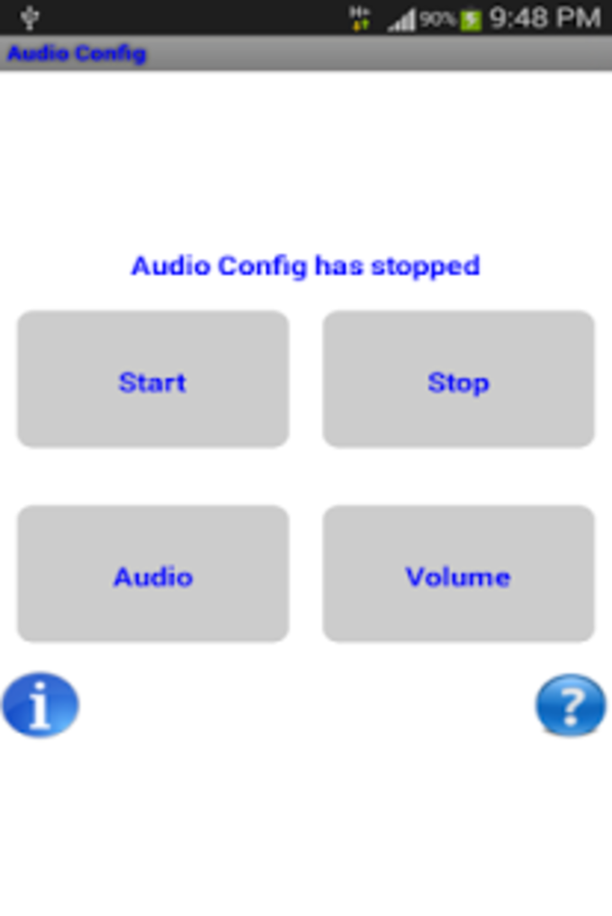Audio Config