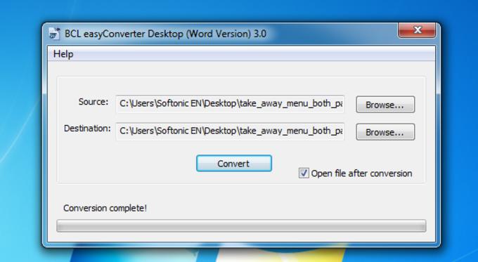 BCL easyConverter Desktop
