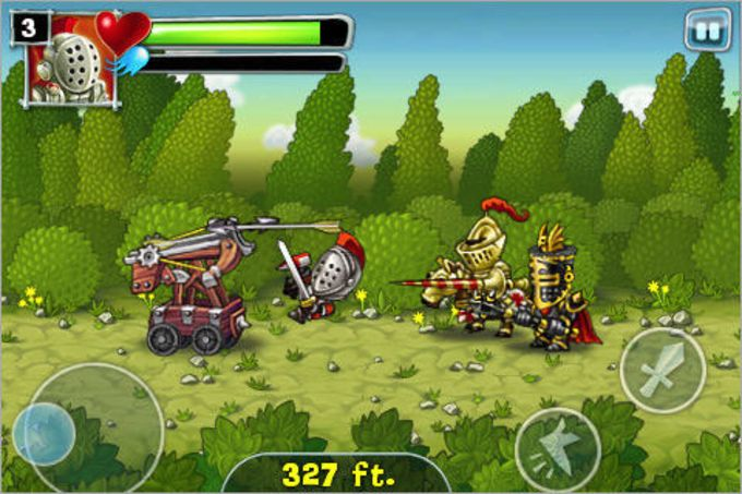 A quest of Knights OnRush