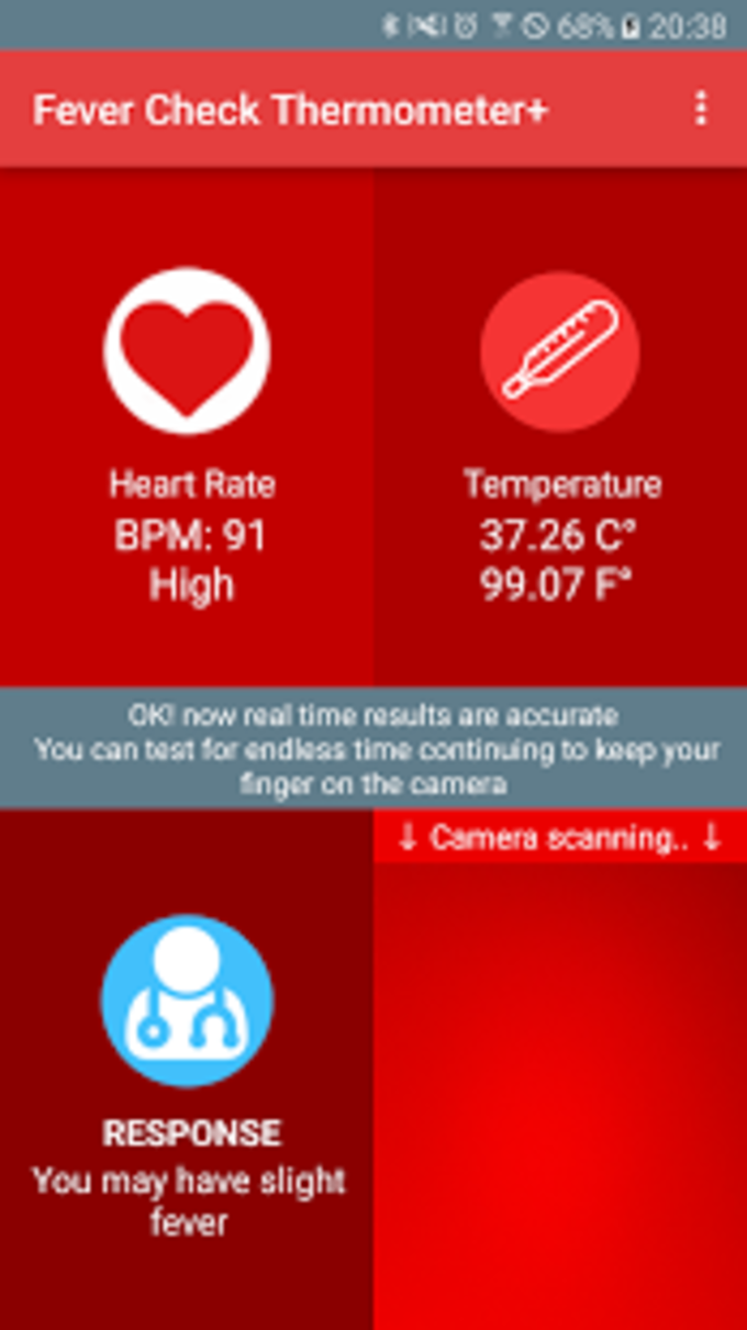 Fever Check Thermometer+