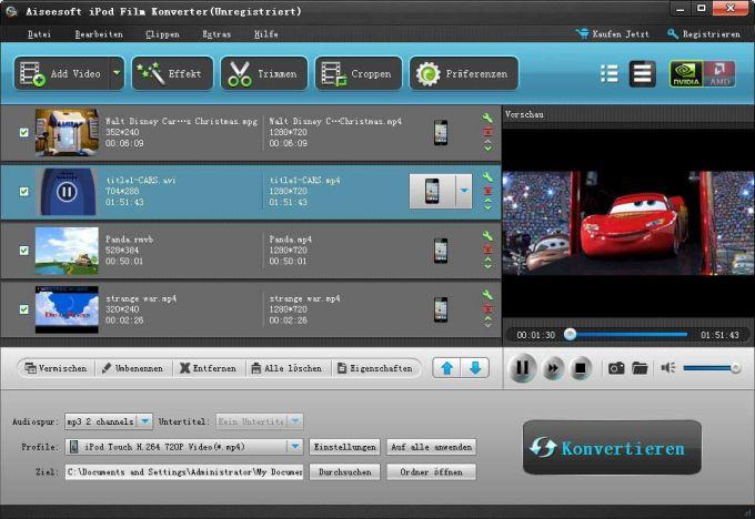 Aiseesoft iPod Video Converter