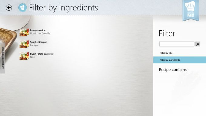 CookMe Pro - Your Cookbook