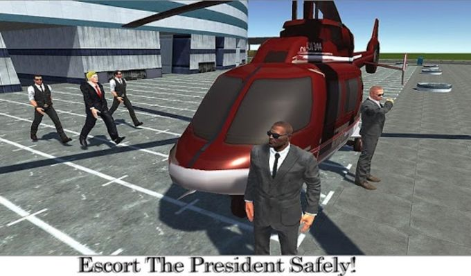 US President Escort Helicopter