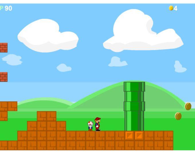 Old Super Mario Bros