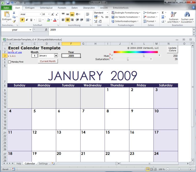excel kalender - Dorit.mercatodos.co