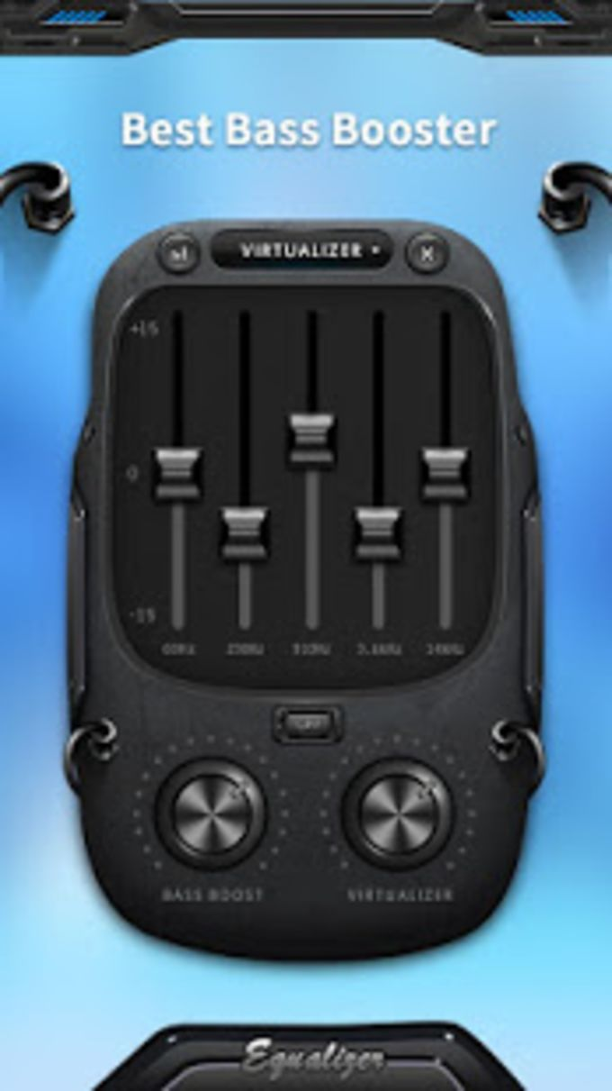 Music Equalizer  Sound Bass Booster