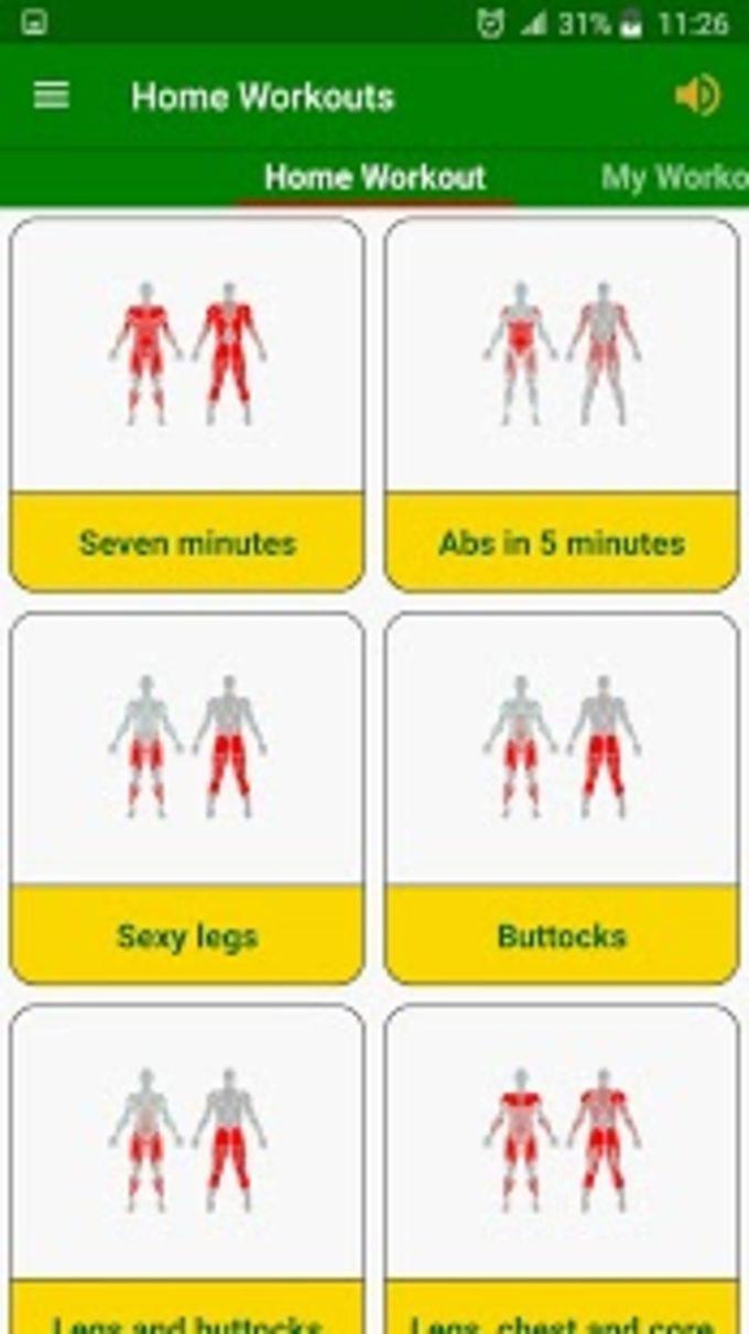 Gym Home workouts no equipment