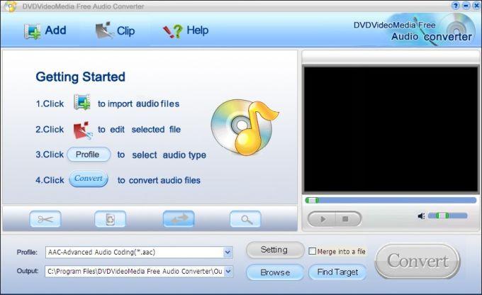 DVDVideoMedia Free Audio Converter