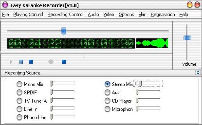 Easy Karaoke Recorder