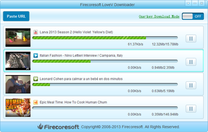 Firecoresoft Free LoveV Downloader